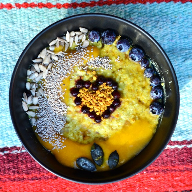 turmeric-breakfast-pudding